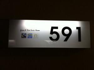 Fairtrade-Kennzeichnung des Hotelzimmers