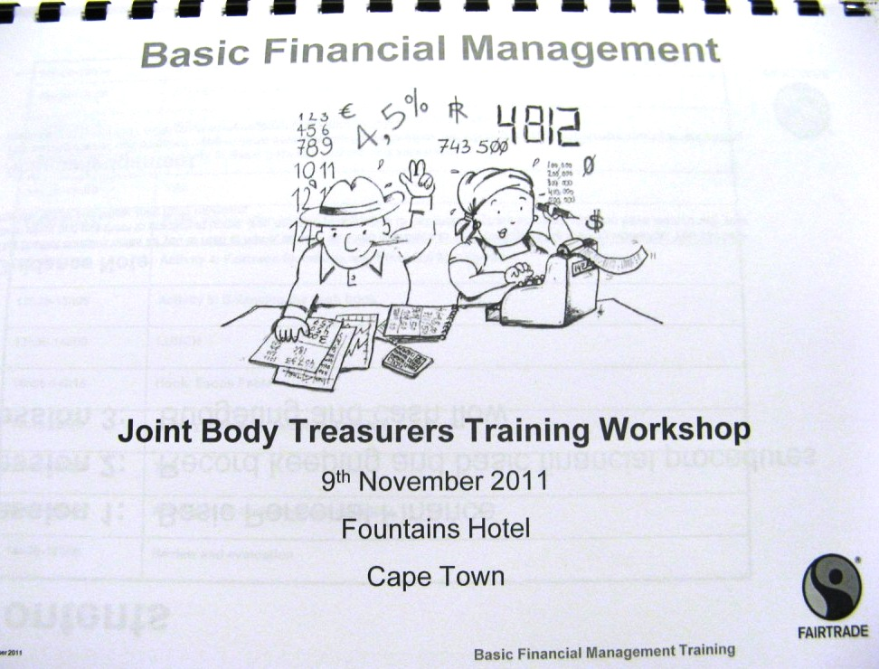 Treasurers Training Folder | Fairtrade Deutschland