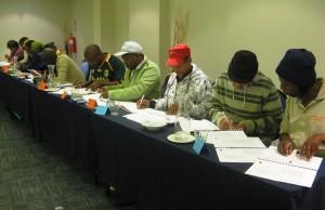 Treasurers Training im Fountains Hotel in Kapstadt