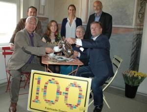 Lüneburg freut sich über den Titel 100ste Fairtrade-Town