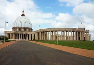Basilika in Yamoussokro.