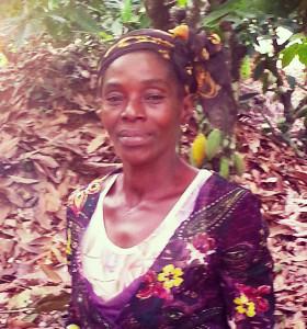 Die Kakao-Bäuerin Emma Georgette