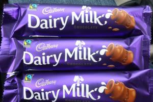 Cadburys Schokoriegel aus dem südafrikanischen Supermarkt