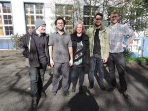 Berufskolleg an der Lindenstraße (José Zweiter von links)
