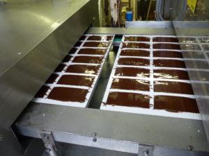 gefüllte Schokoladenformen