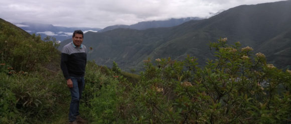 Claudio Ortiz Osio, Geschäftsführer der Kooperative CAC Incahuasi © Fairtrade