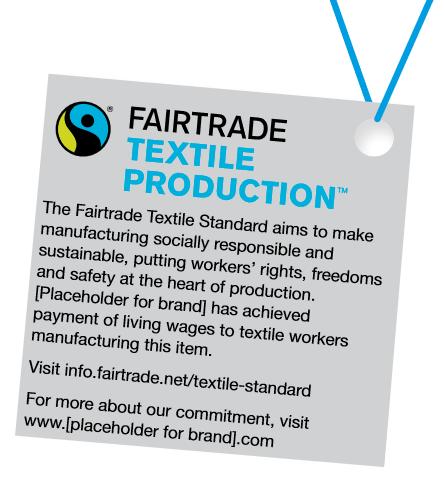 Fairtrade Textile Production