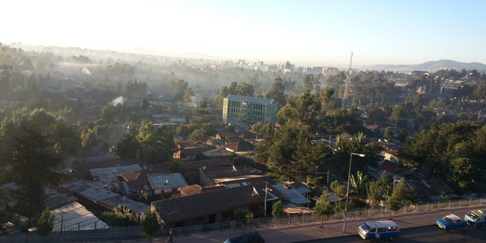 Sonniger Start in Addis Abeba