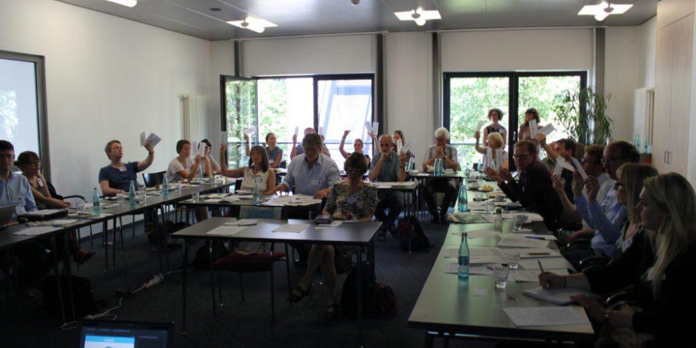 Mitgliederversammlung in Deutz