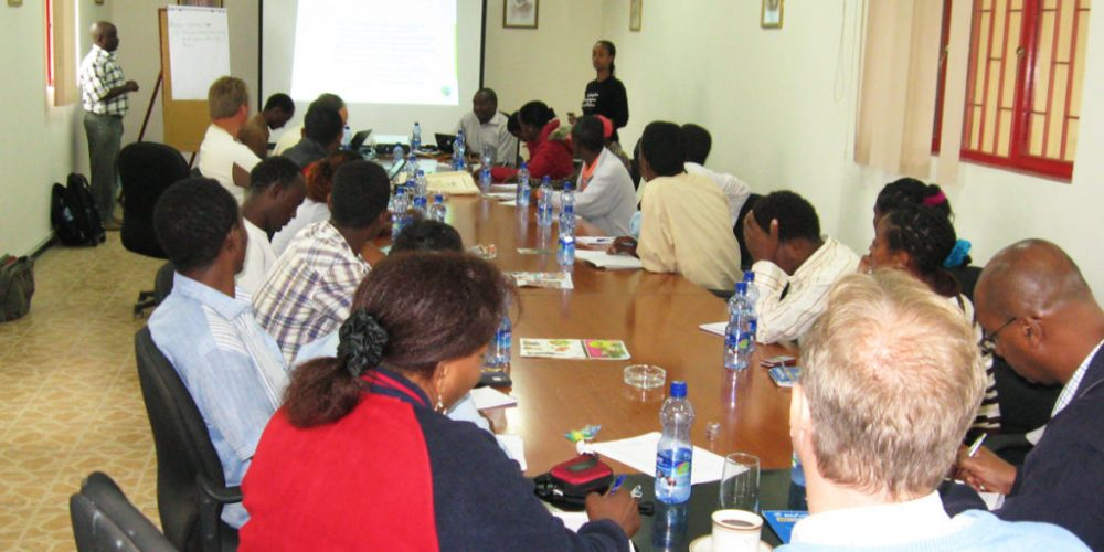 Joint Body Training bei Sher Ethiopia