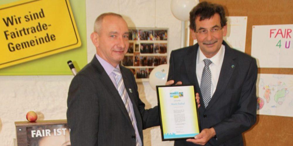 Roßtal: 100. Fairtrade-Town und 1. Fairtrade-Markt
