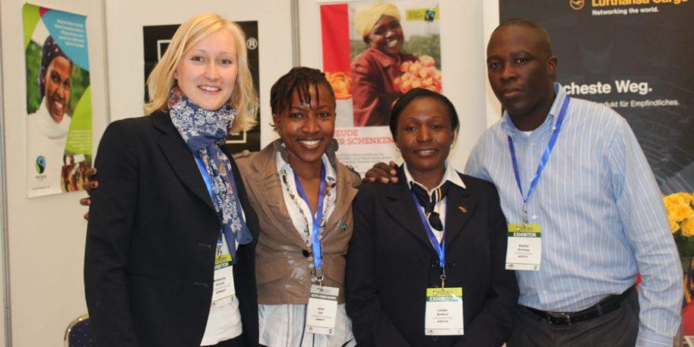 Kenias starker Auftritt auf der IFTEX Blumenmesse in Nairobi