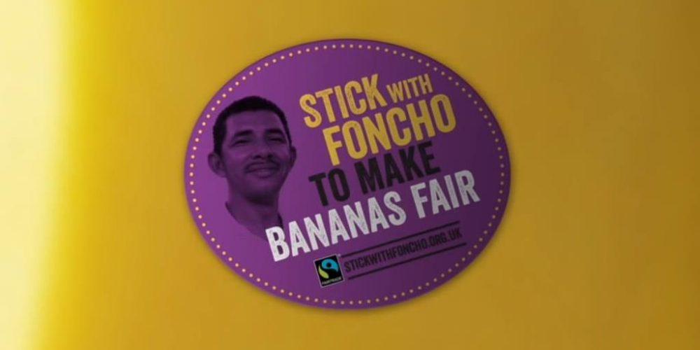 In London für faire Bananen