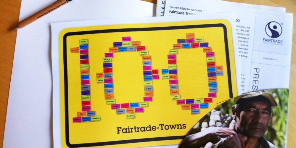 100. Fairtrade Town – Auf nach Wertingen….