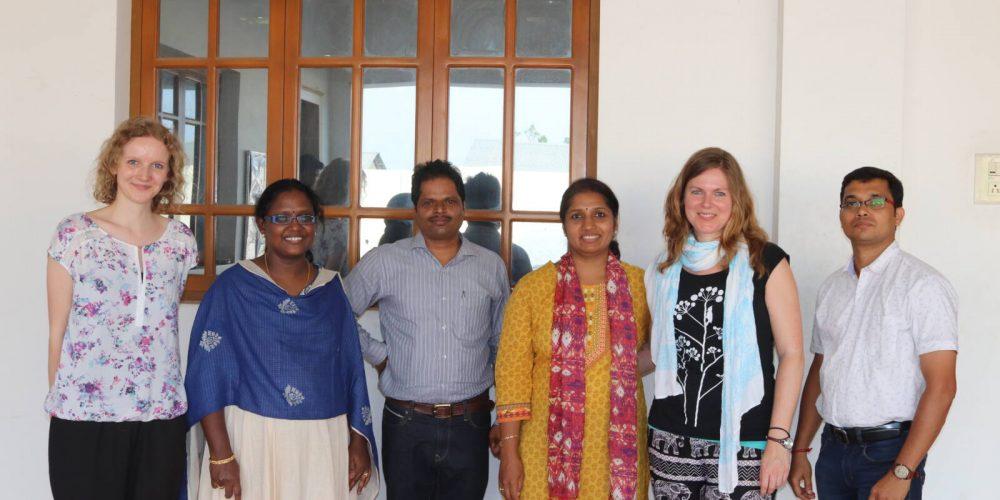 Textilprogramm in Tirupur: Kompetentes Trainer- und Expertenteam in Indien