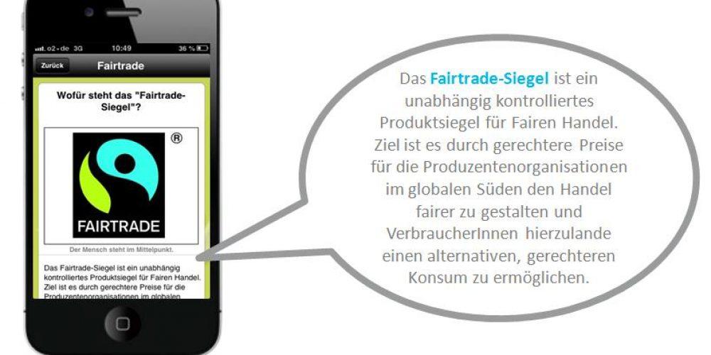 Die erste Fairtrade Smartphone App!