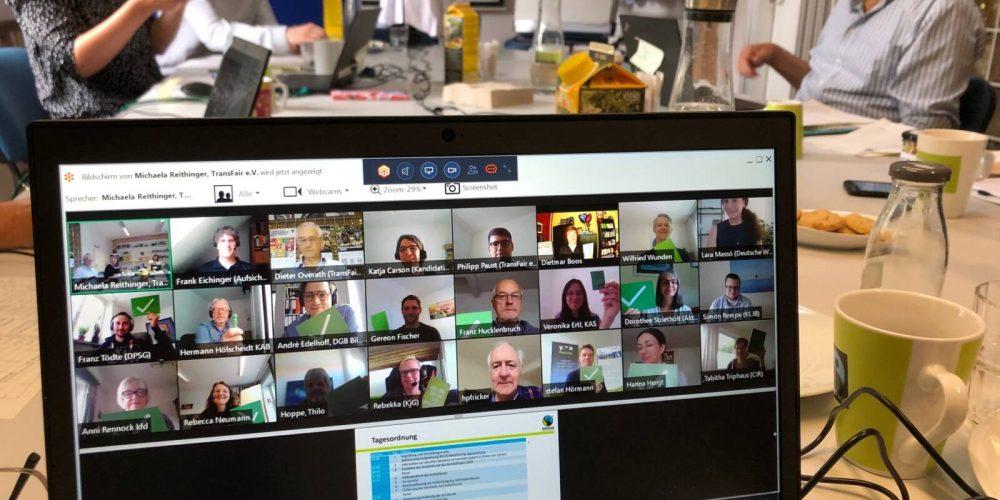Digitale Mitgliederversammlung von TransFair e.V.