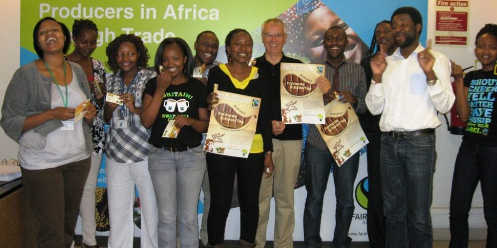 Schoko-Tag in Nairobi