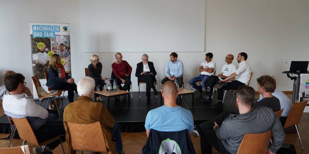 Fashion Revolution in Frankfurt: Wer trägt die Verantwortung für eine öko-faire Textilproduktion?