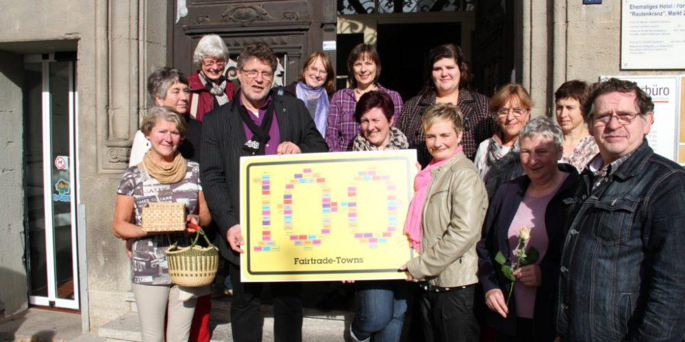 Eisenach ist 100. Fairtrade Town