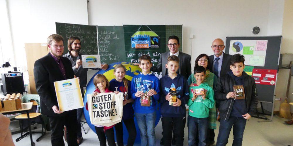 100. Fairtrade School in NRW ausgezeichnet