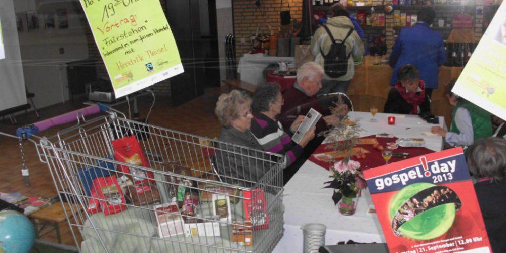 Fairtrade Town Nordwalde eröffnet Faire Woche 2013