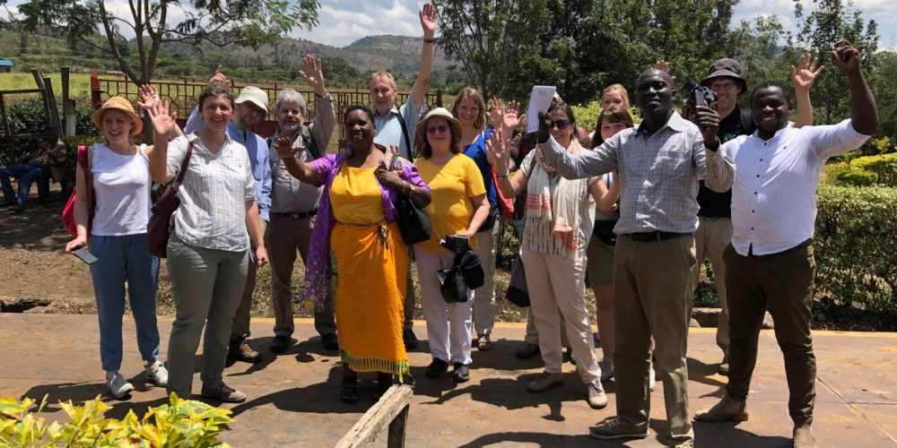 Mit dem Aufsichtsrat und Mitgliedsorganisationen durch Kenia