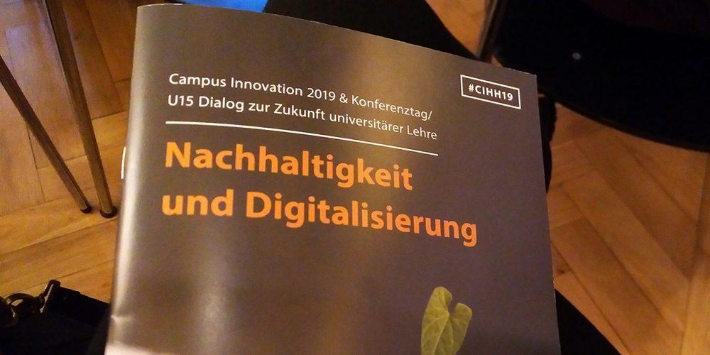 Schon nachhaltig? Unterwegs auf der Campus Innovation 2019