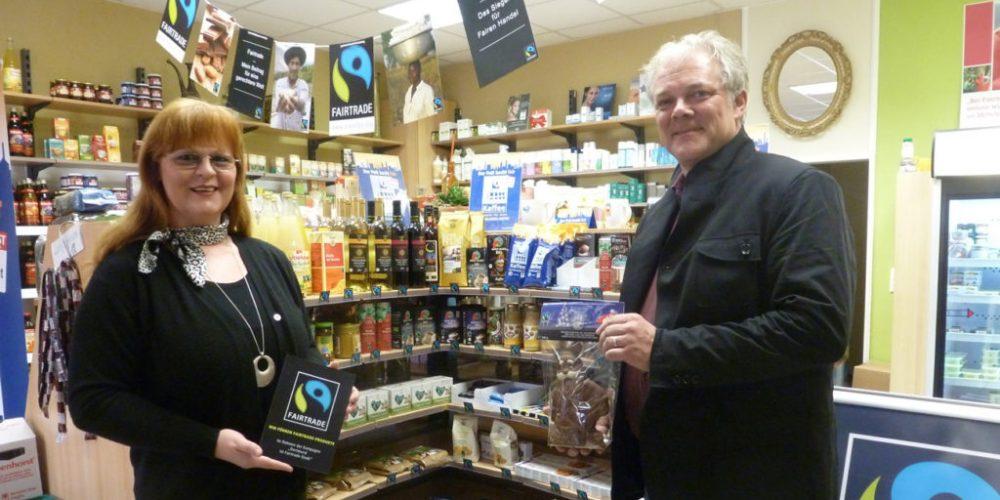 """Reformhaus in Dortmund mit 1. Fairtrade """"Shop in Shop"""""""