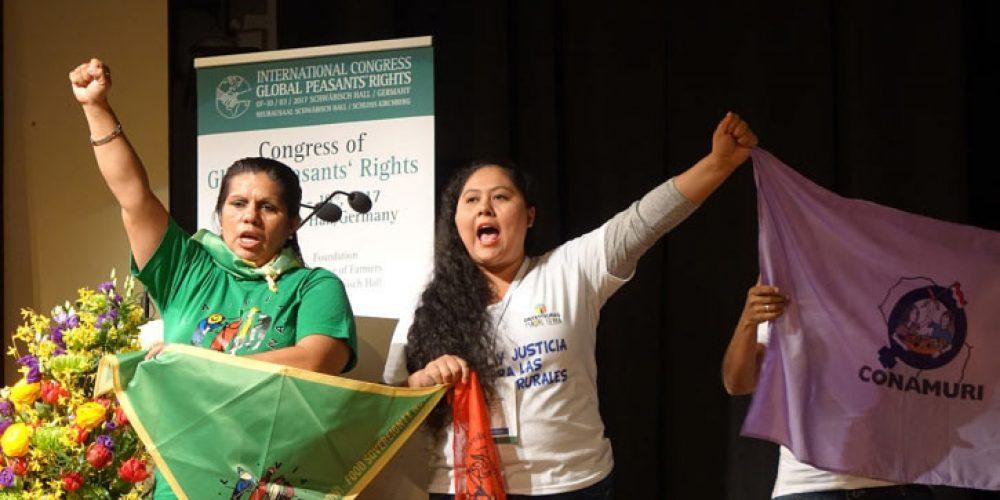 """Rechte der Kleinbauern im Fokus – """"Global Peasant's Rights""""- Kongress vom 7. – 10. März in Schwäbisch Hall"""
