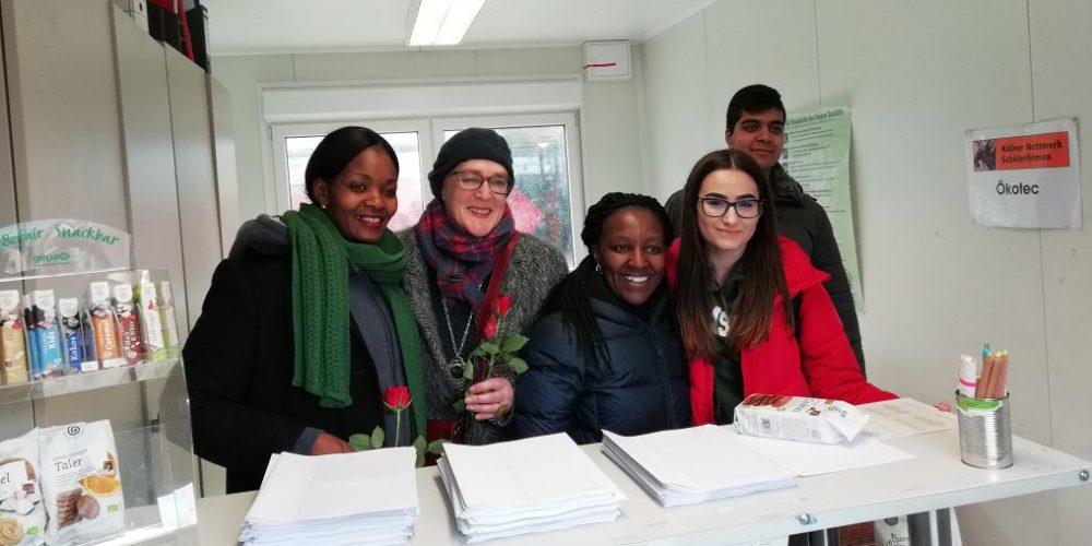 Flower Power an der Lise-Meitner-Gesamtschule