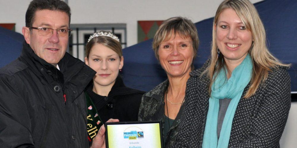 """Kelheim feiert den Titel """"100. Fairtrade-Stadt"""""""