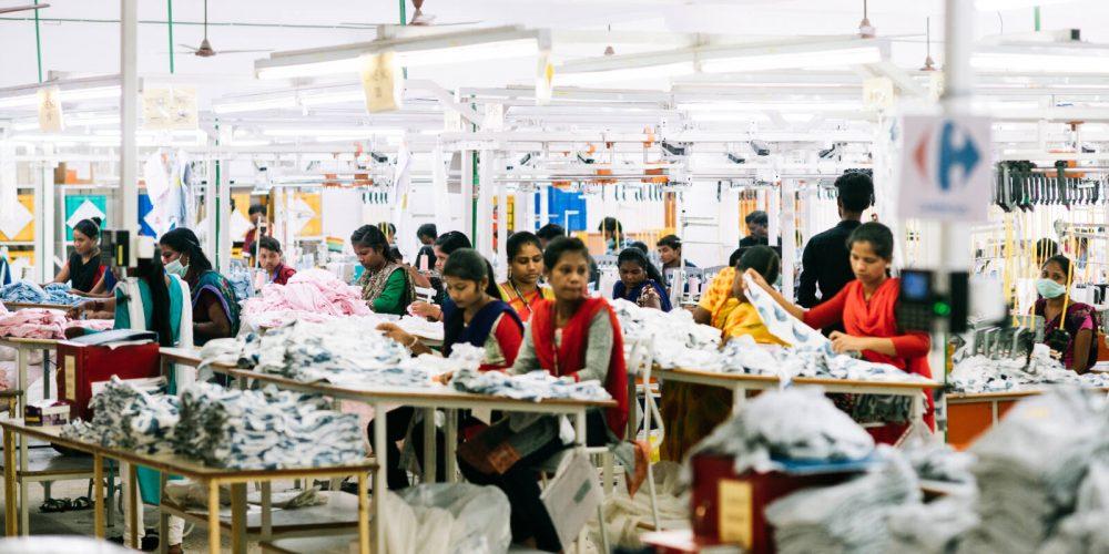 Indiens Textilindustrie ein Jahr nach dem Lockdown