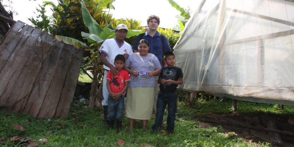 Stolze Kakaobauern in Panamá