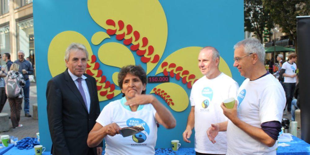 Erfolgreicher Fairtrade-Kaffee-Tag
