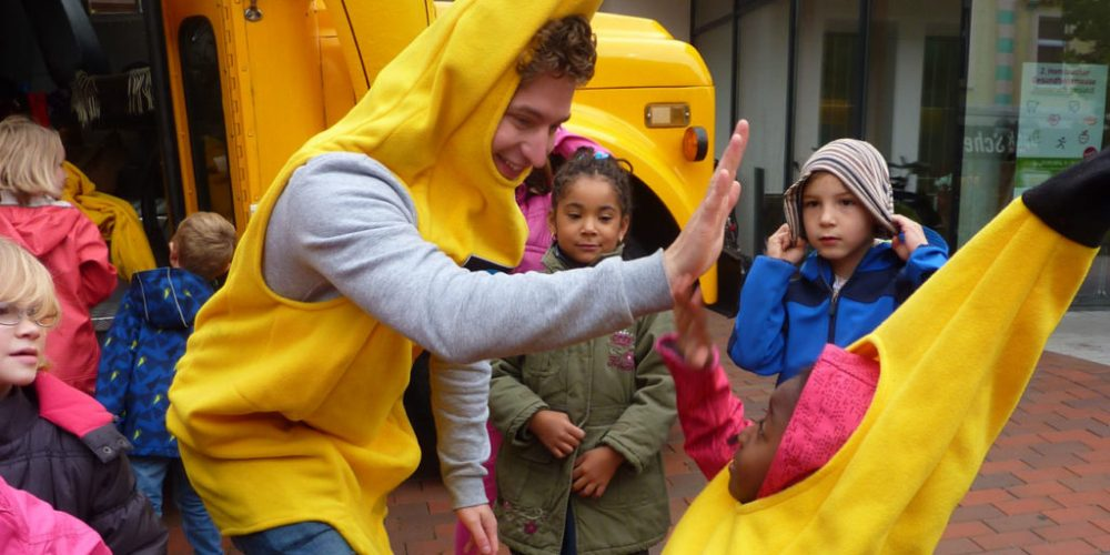 Banana Fairtour – Stopp Dortmund