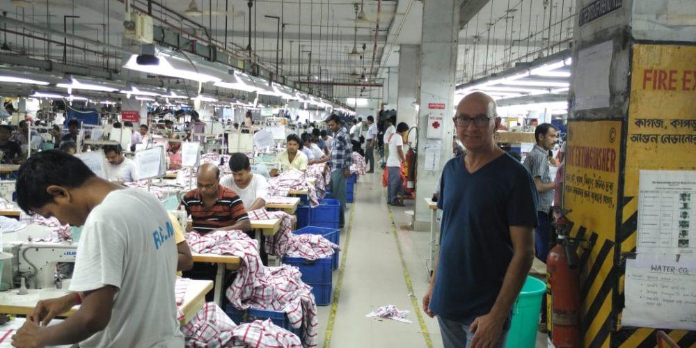 Textilien & Tee in Kalkutta, ein Reisebericht