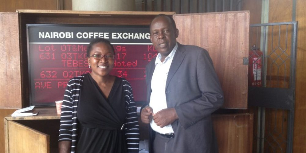 Besuch bei Kenias größter Kaffee-Auktion